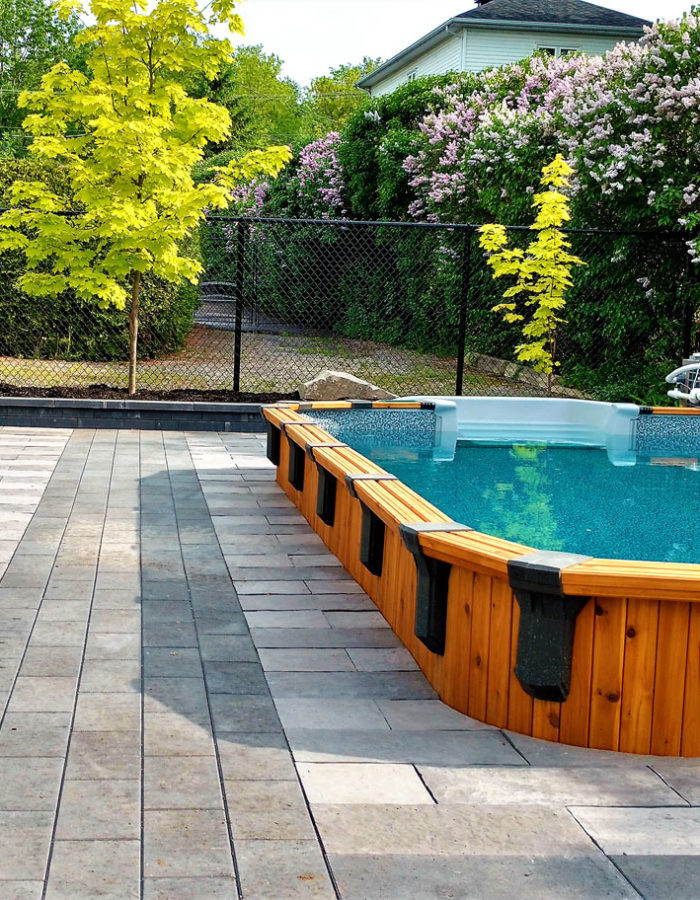 Paysagement piscine